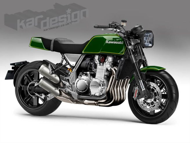 KAWASAKI 6気筒バイクのZ1300の復活モデル予想スケッチ!