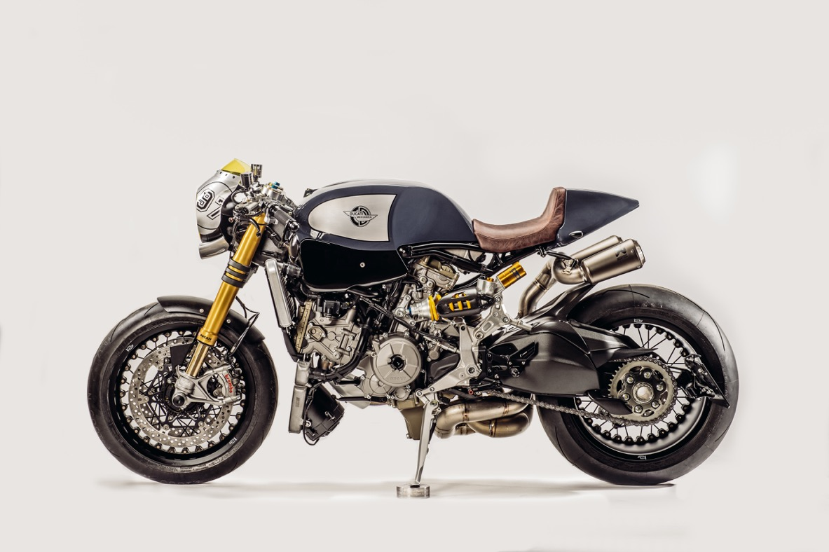 Ducati Panigale1200(パニガーレ)のカフェレーサーがかっこいい!