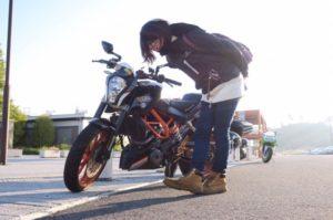 ライダー女子りおなのバイク日記「自己紹介&愛車紹介」