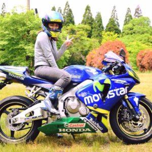 女子ライダー亜梨沙の「バイク愛と夢」