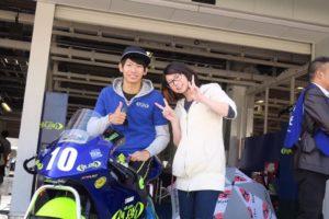 ライダー女子りおなのバイク日記「応援ライダー紹介」