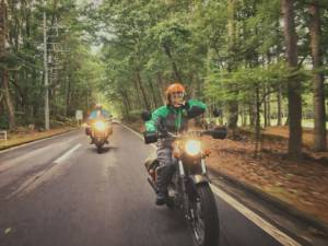 バイク女子 のん の「信州ツーリングレポート」