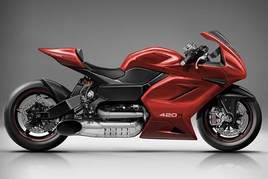 420馬力のガスタービンバイクがすごい!