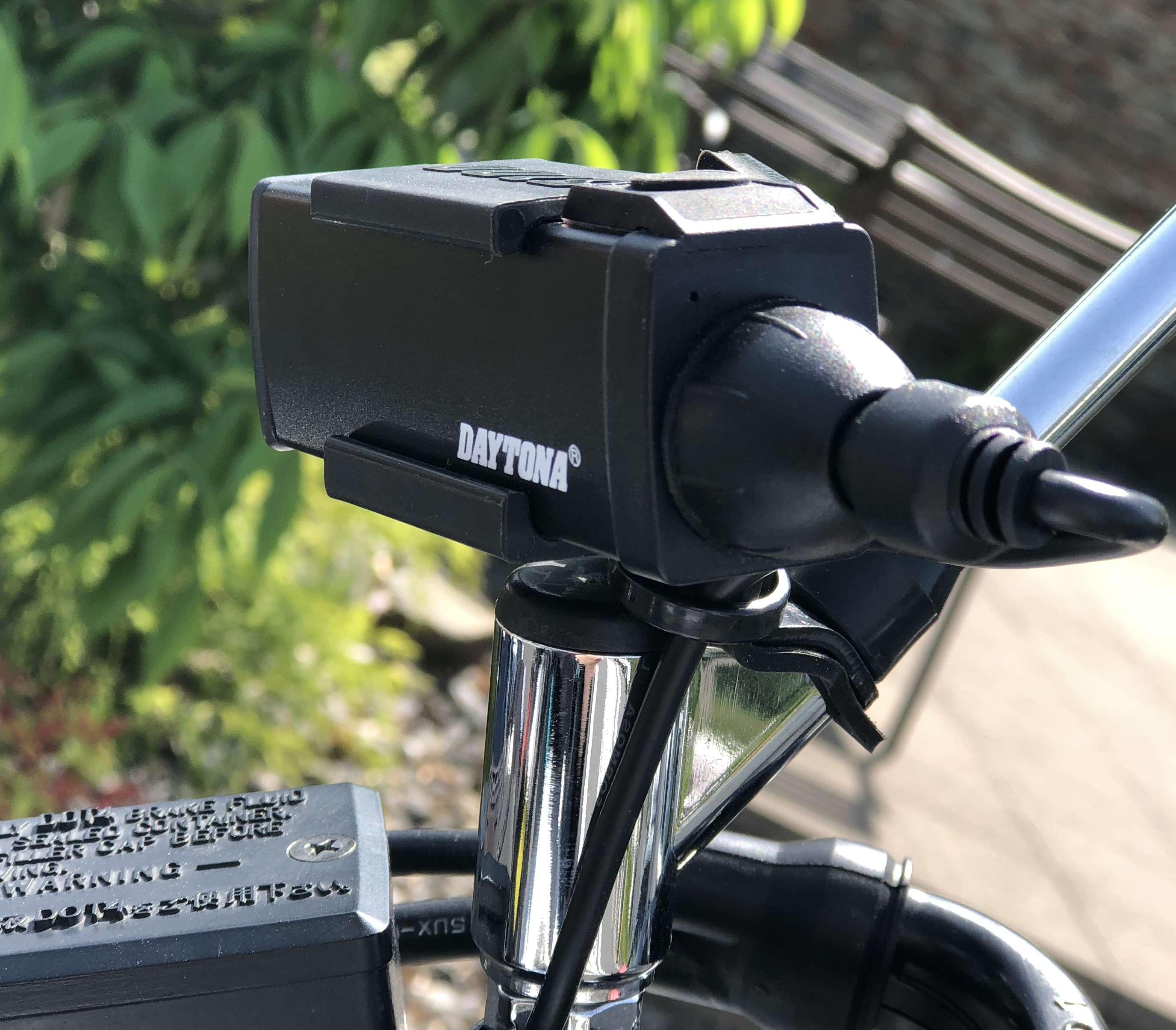 バイク用ドラレコ・デイトナDDR-S100の実装レポートとDIY装着例まとめ