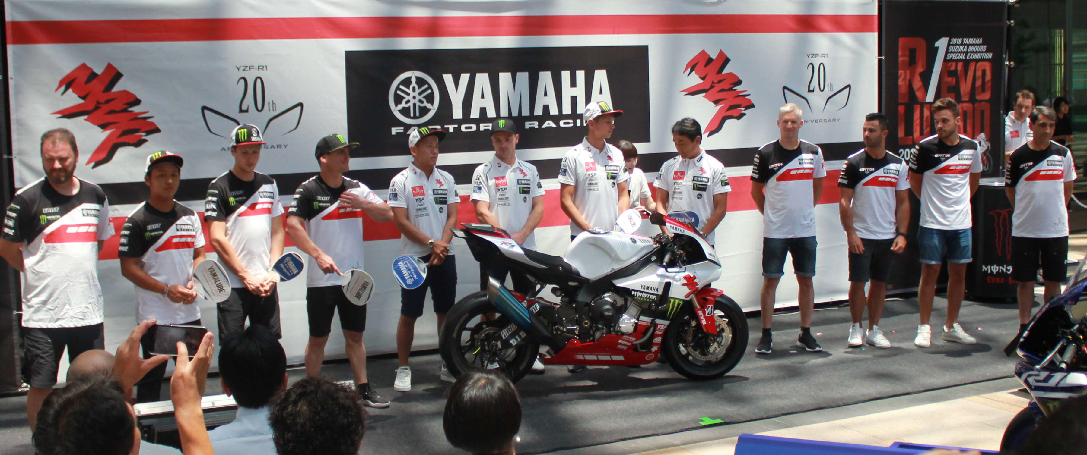 「ライバルは自分たち」YAMAHA YZF-R1選手達が語る4連覇への熱い思い