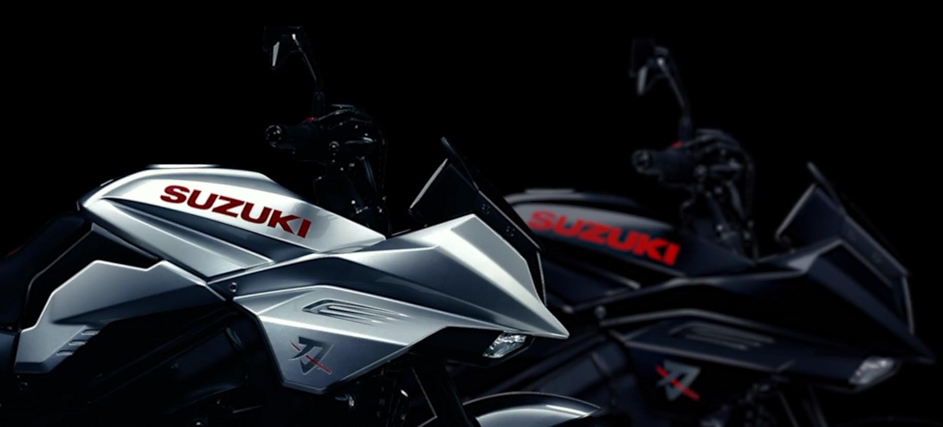 SUZUKI新型KATANA早くも新色登場!11月のミラノでブラックを公開予定