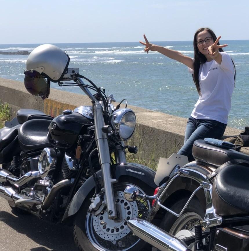 """バイク女子 阿部真由美! """"クリスマスにほしいものはバイク?"""""""