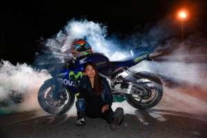 女子ライダー亜梨沙「バイク写真展でモデルになりました!」