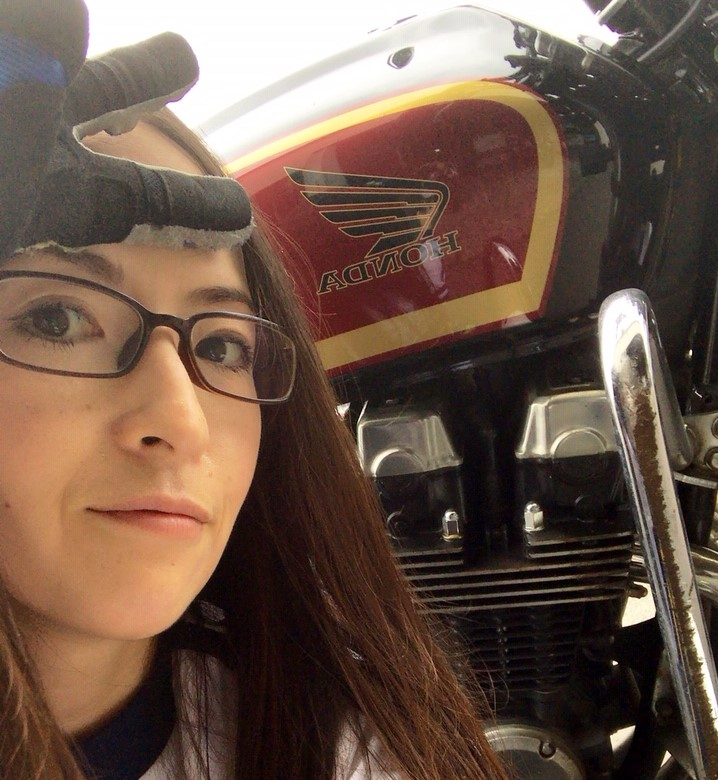 バイク女子 ライダー女子
