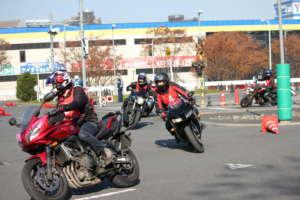 大学生二輪車安全運転講習会を取材!バイクに熱い若者が今ここにいる