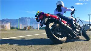 """バイク女子 阿部真由美! """"おすすめアイテム紹介!"""""""