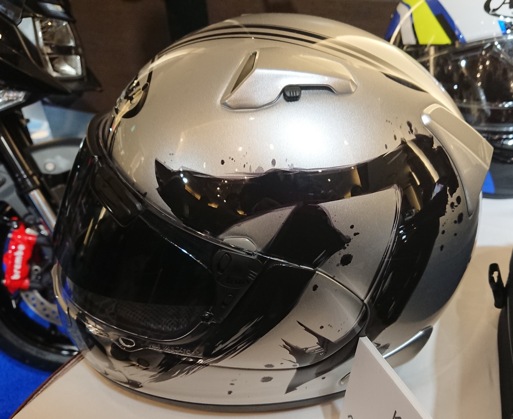 スズキSUZUKI 新型KATANA! Arai カタナヘルメットも同時発売!
