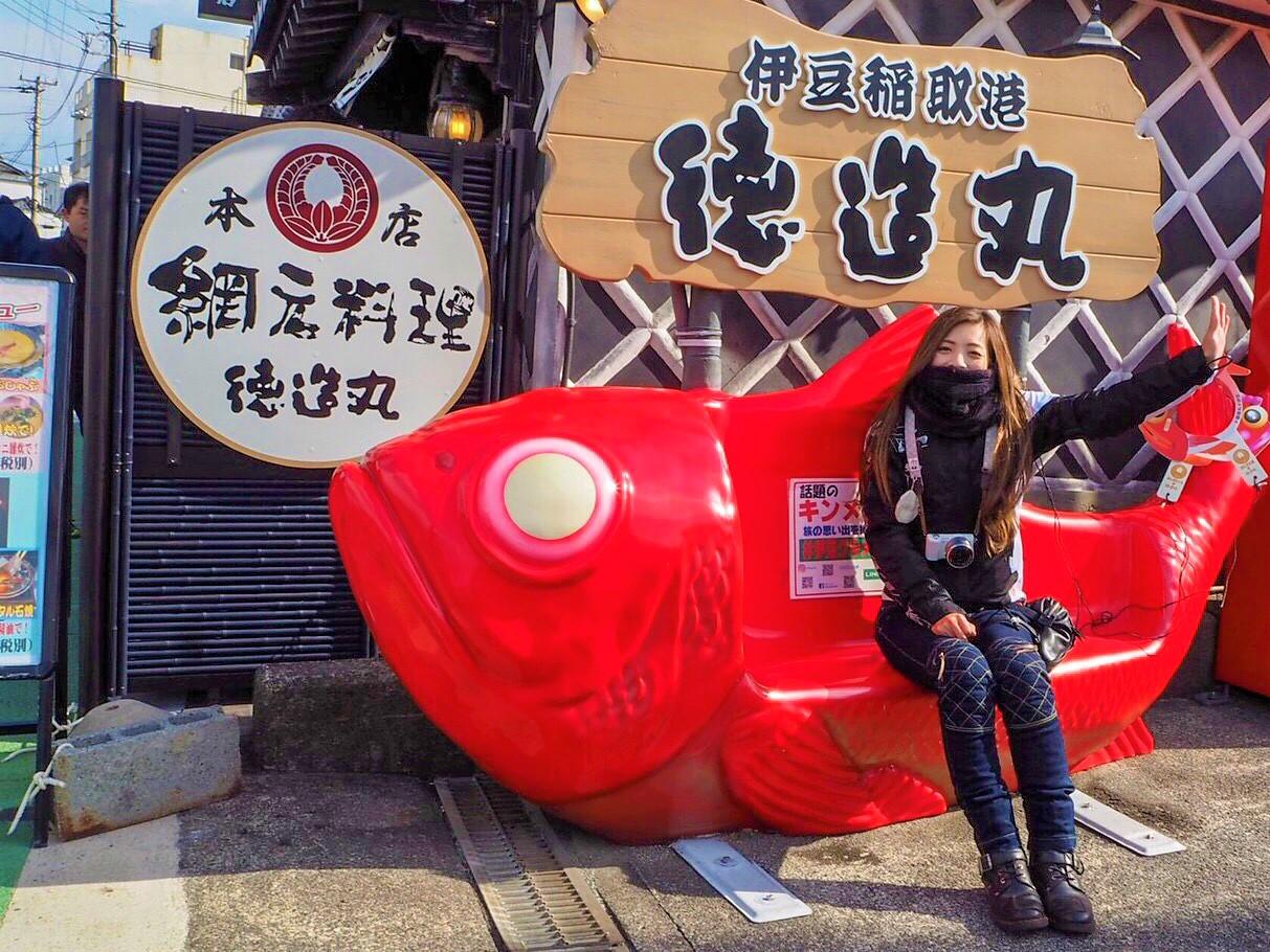 インスタバイク女子Ruriko「冬の伊豆ツーリング」