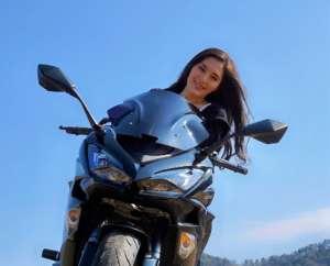 インスタバイク女子おみつ「まずは自己紹介」