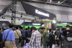 東京モーターサイクルショー2019 Kawasakiブースは発見と体験が楽しい