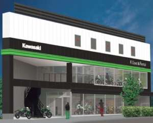 Kawasaki直営「K Used&Rental TOKYO」オープン 全モデル全カラー揃う