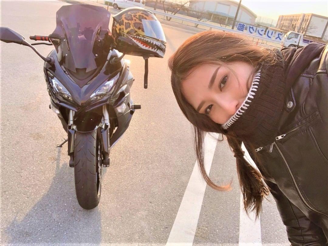 インスタバイク女子おみつ「バイク乗りの温かさを感じる極寒ツーリング」