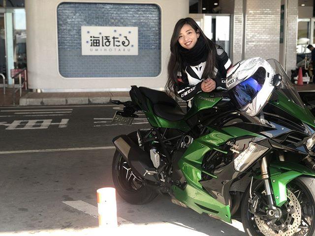 インスタ女子Ruriko Kawasaki H2 SXで千葉へショートツーリング https://www.rock-tune.com/2019/04/17/17796 #バイク女子 #ガールズバイカー #バイクのある風景 #バイクのある生活 #バイクが好きだ #バイク写真部 #モーターサイクルナビゲーター 5日前
