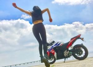 インスタバイク女子いちこ「三河ツーリング」