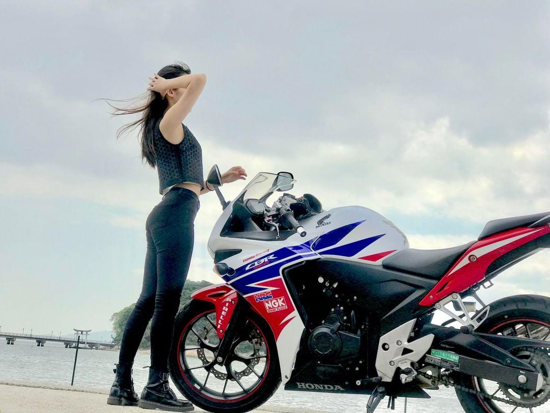 インスタバイク女子いちこ「三河ツーリング」 https://www.rock-tune.com/2019/05/06/18502