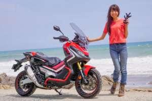 インスタバイク女性ライダーkanaeの「まずは自己紹介」