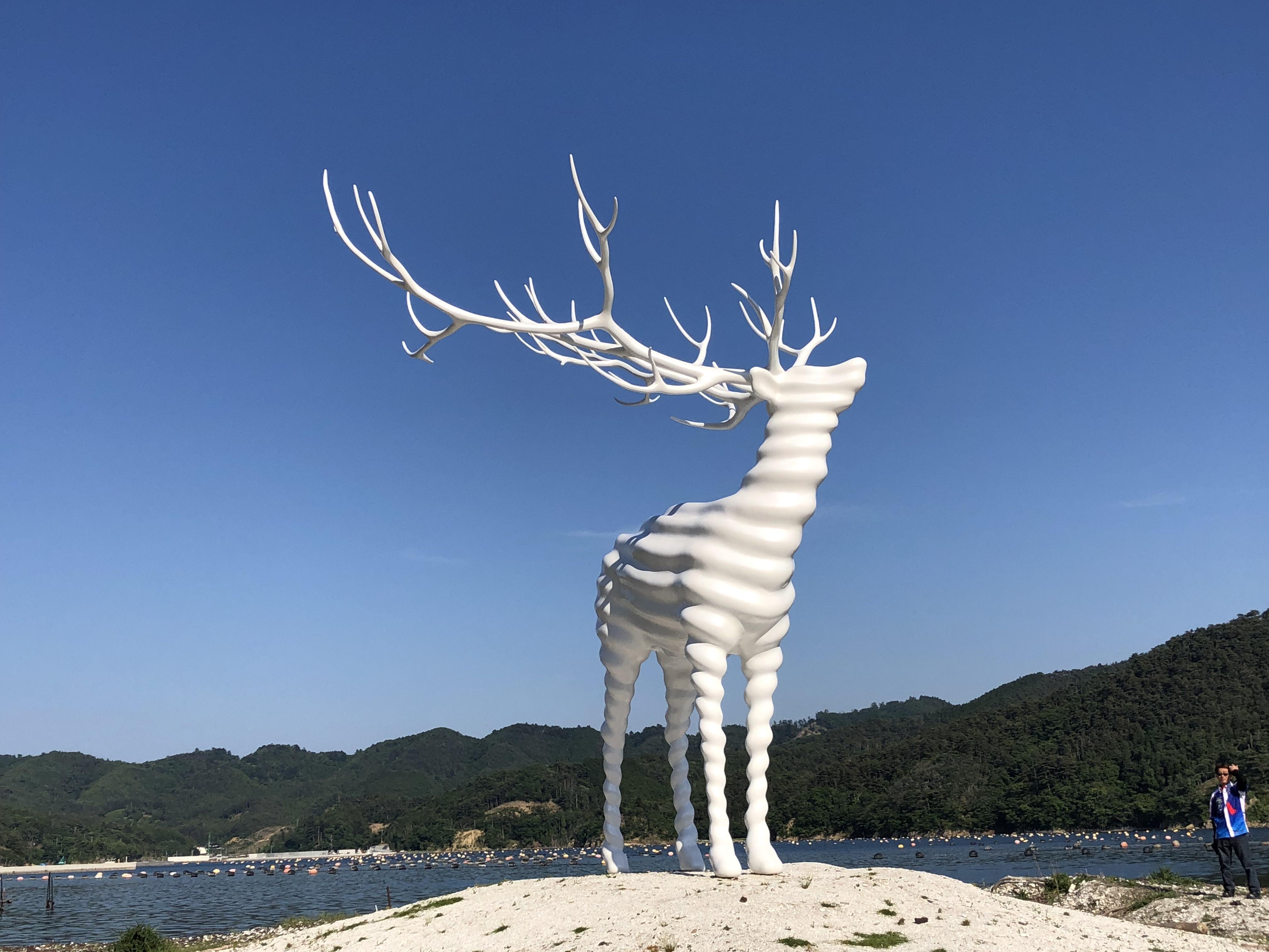 東北・三陸沿岸ツーリング 山の緑と青い空そして海の青に抱かれよう!