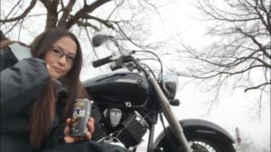 """バイク女子 阿部真由美! """"ビーナスラインツーリングが好き"""""""