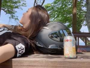 インスタバイク女子おみつ「地元 滋賀ツーリング」