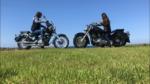 バイク女子 ドラッグスター ヤマハ ツーリング