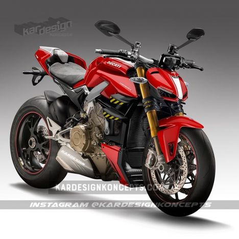 Ducati(ドカティ) Streetfighter V4 ストリートファイターモデルをパイクスピークで公開!