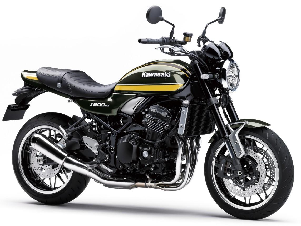Kawasaki Z900RSシリーズが新色で登場!あのタイガーカラーも復活だよ