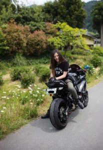 インスタバイク女子おみつ「美山 かやぶきの里ツーリング」