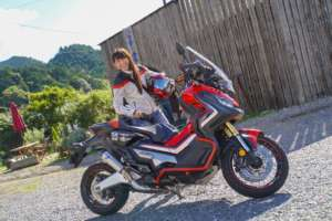 インスタバイク女性ライダーkanae「素敵なランチツーリング」