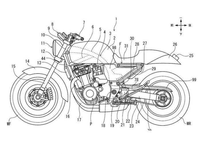 Honda(ホンダ) CB400SFのデザインが激変するかもしれません!
