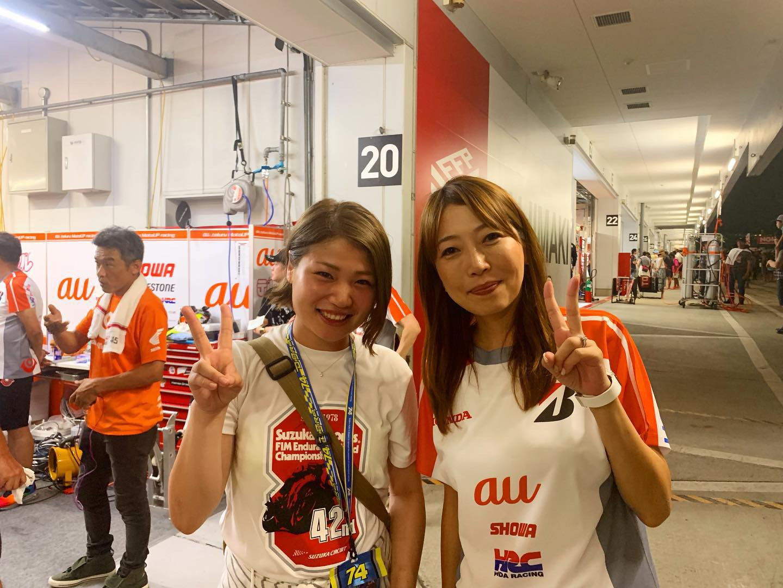 女子レーシングライダー亜梨沙「オートポリス全日本観戦記」
