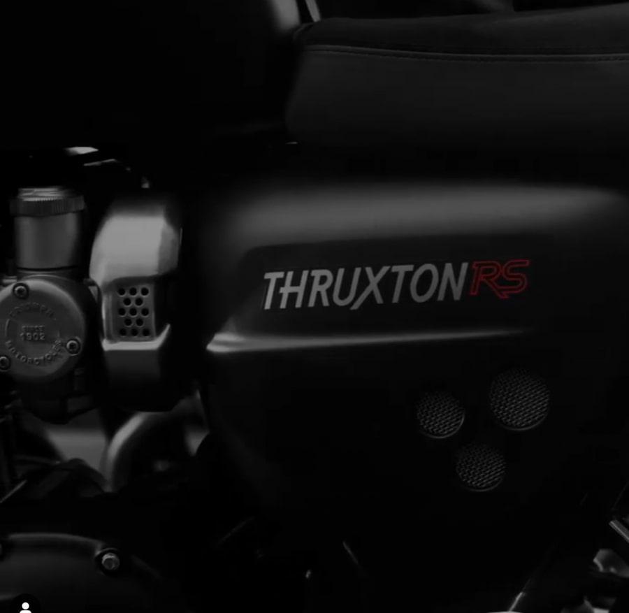 Triumph(トライアンフ)新型Thruxton(スラクストン) RSをEICMAで公開!