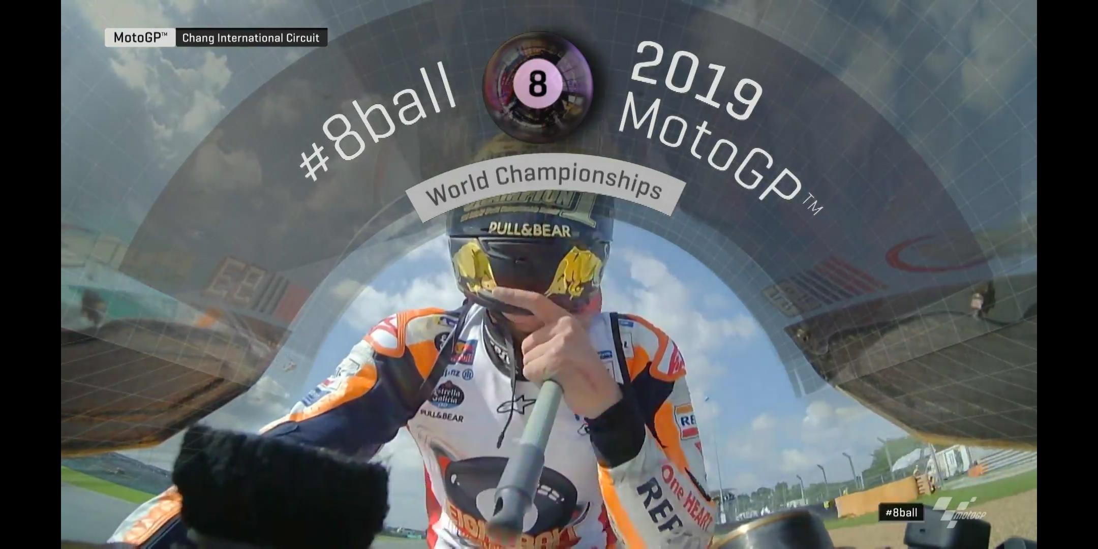 マルケスMOTO GP2019年シーズンチャンピオン決定!