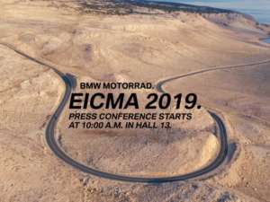 BMW 2019 EICMA(ミラノショー)で4つの新型モデル公開を宣言!