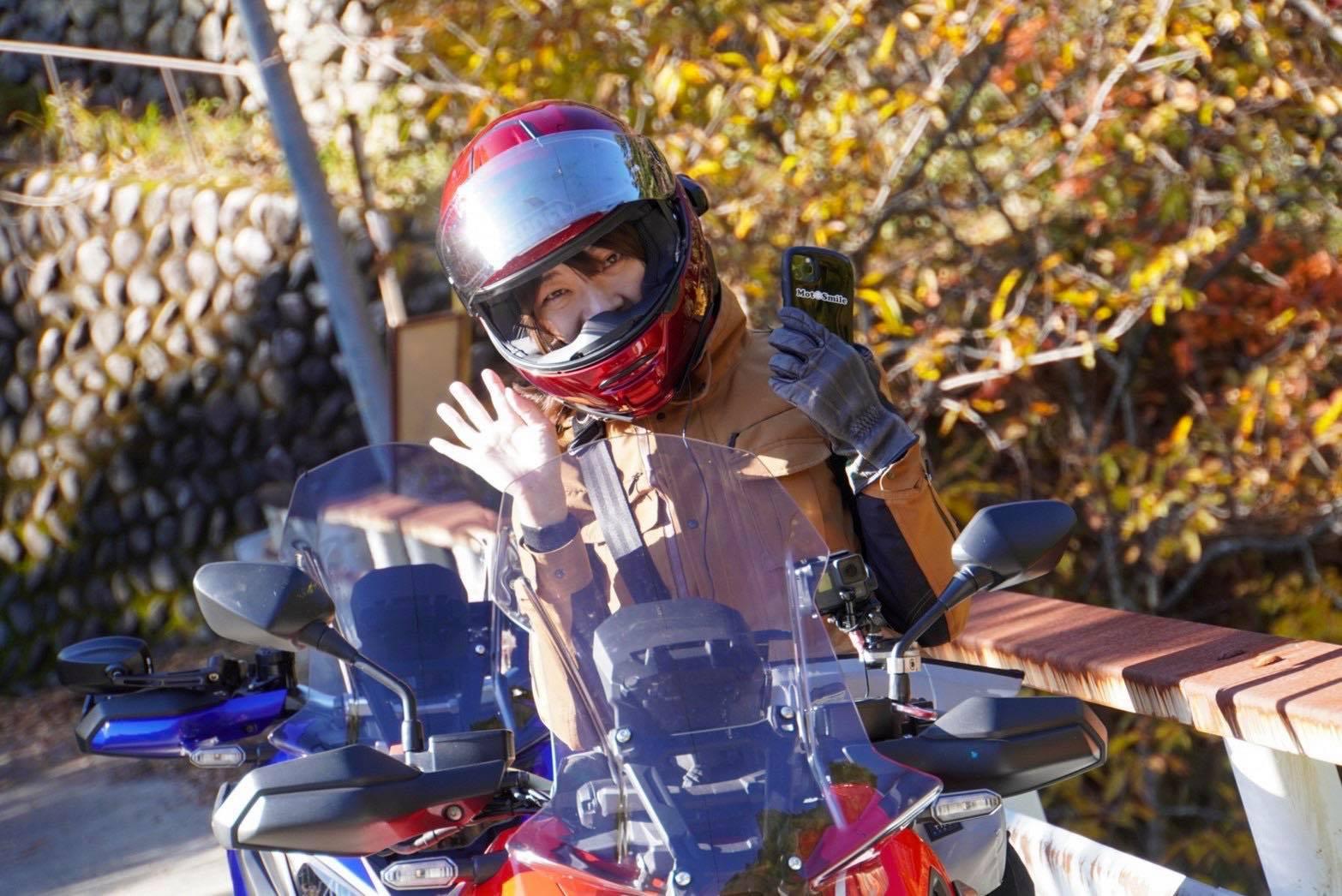 インスタバイク女性ライダーkanae「岐阜県の付知峡と中津川ツーリング」