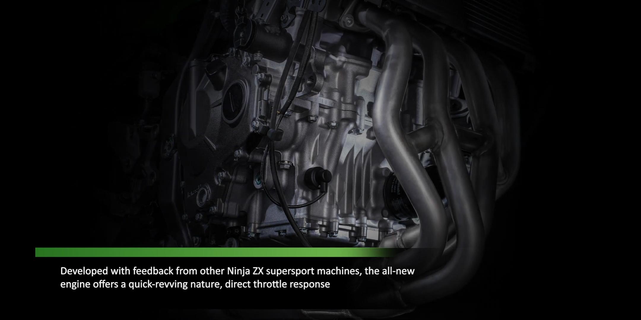 Kawasaki(カワサキ) 250cc 4気筒 ZX-25R次はエンジンの紹介映像公開!