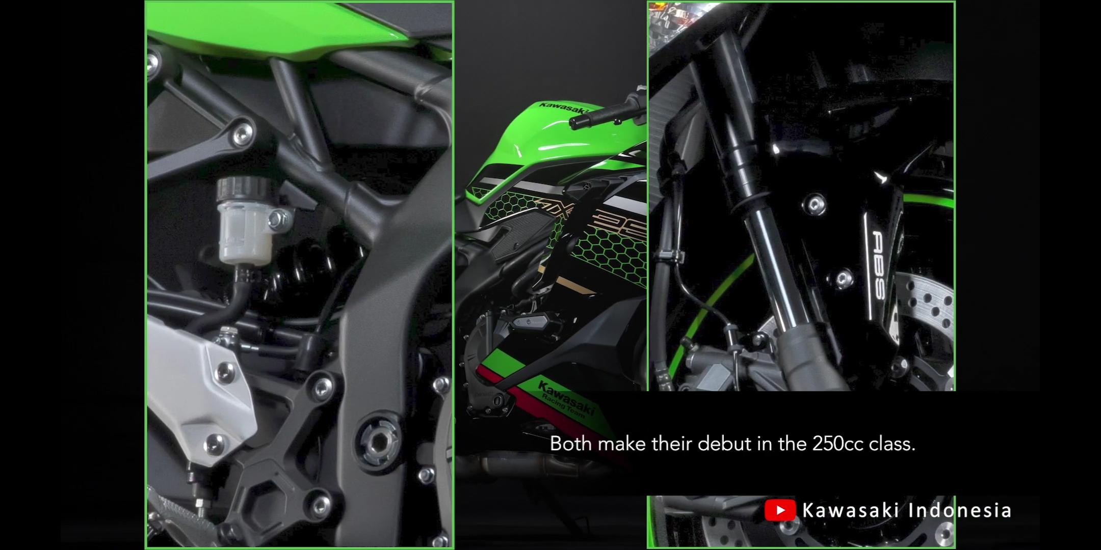 Kawasaki(カワサキ) 250cc 4気筒 ZX-25Rサスペンションの紹介映像公開!