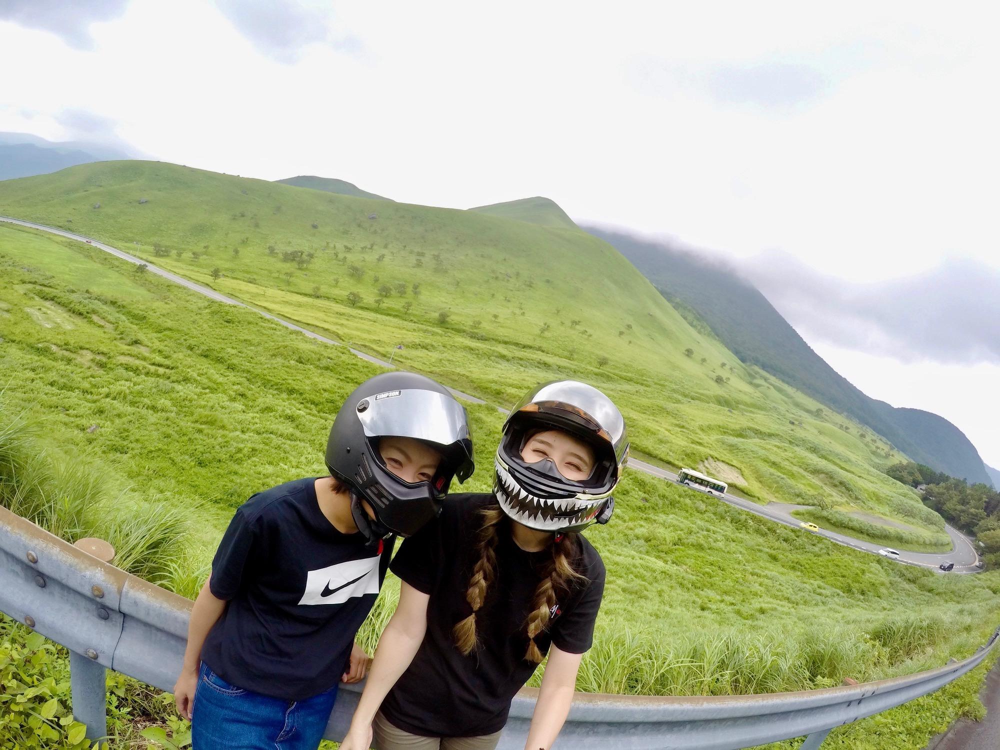 インスタバイク女子おみつ「なつみつ4泊5日 西日本ツーリング②」