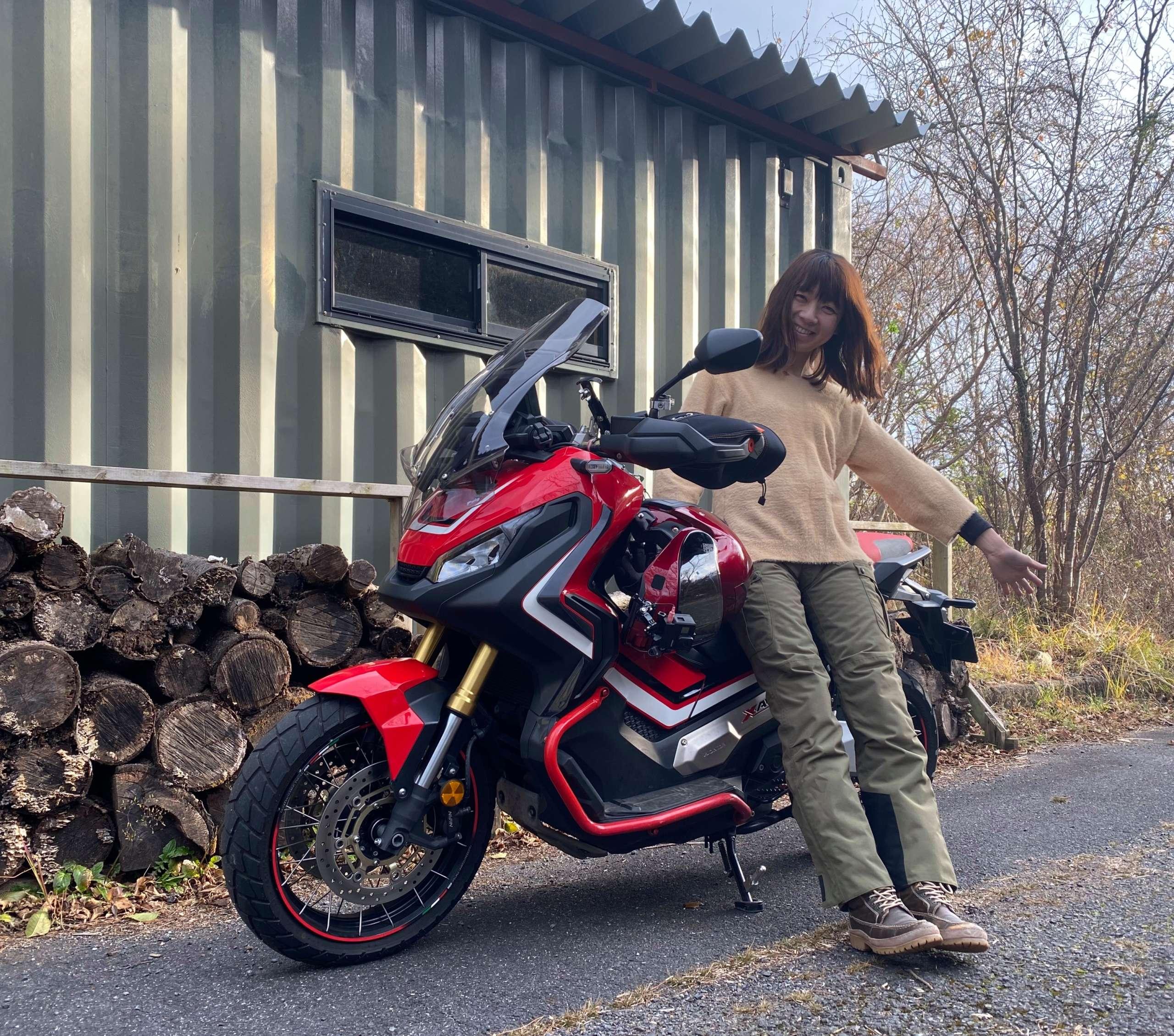 インスタバイク女性ライダーkanae「女子ツーリング」