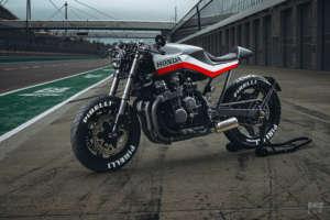 Honda(ホンダ) CBX750Fのカフェレーサーカスタムバイクが素敵!