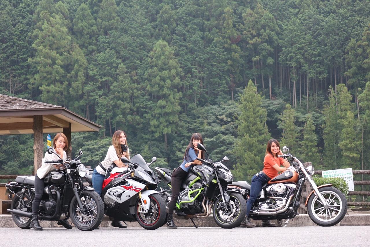 インスタバイク女子おみつ「S1000RR初! 岐阜女子ツーリング」