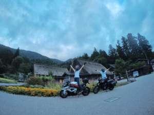 インスタバイク女子おみつ「S1000RR 千里浜→白川郷→高山ツーリング①」