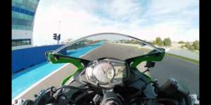 Kawasaki(カワサキ) ZX-25R 250cc 4気筒本気モデルのサーキット走行映像公開!