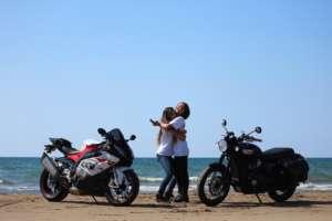 インスタバイク女子おみつ「S1000RR 千里浜→白川郷→高山ツーリング②」