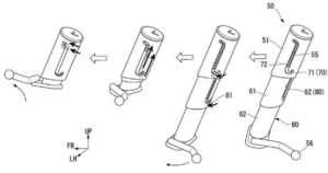 Honda(ホンダ)が一風変わったサイドスタンドの特許を申請