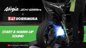 Kawasaki(カワサキ) ZX-25R ヨシムラの排気音がついに公開!